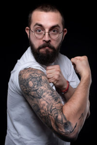 Luca Stocchi Vis Tattoo