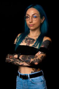 Sara Domino Vis tattoo